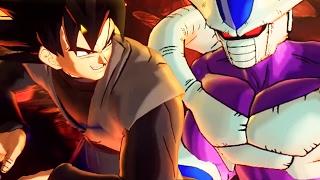 GOKU BLACK vs COOLER & FRIEZA - Dragon Ball X...