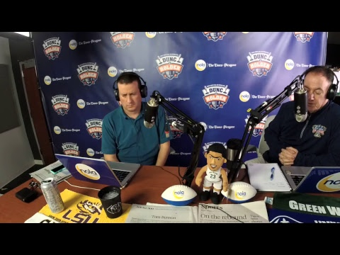 Dunc and Holder on Sports 1280 in New Orleans. February 23, 2018