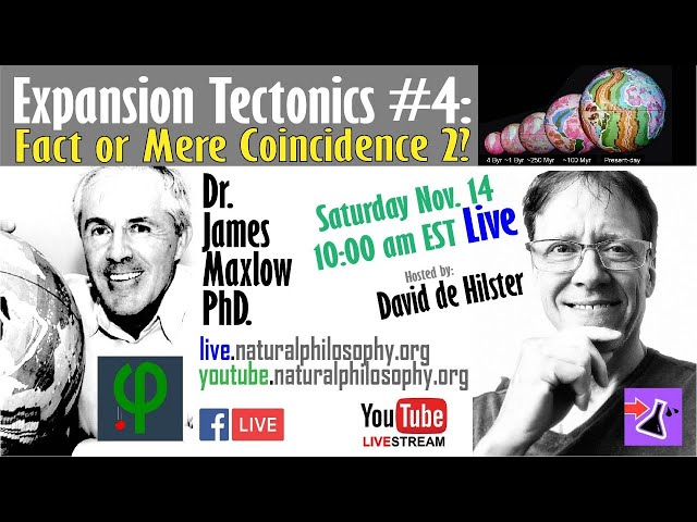 Expansion Tectonics Final: Fact of Mere Coincidence #2? - Dr. James Maxlow