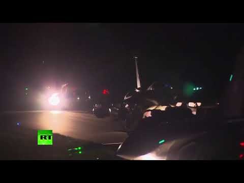 RAW: French military planes take off to bomb Syria