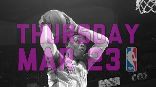 NBA Daily Show: Mar. 23 - The Starters