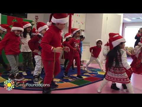 Early Foundations Preschool Christmas Program
