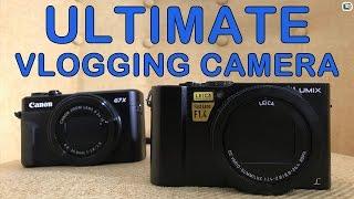 Panasonic LX15 LX10 vs Canon G7X II - Ultimate Vlogging Camera Shootout