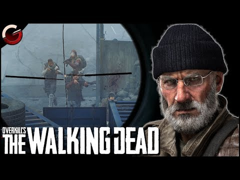 BASE DEFENSE WITH SNIPER AGAINST BANDITS | OVERKILL's The Walking Dead Gameplay thumbnail