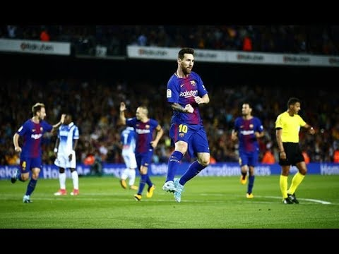 Lionel Messi Hat Trick Show FC Barcelona vs Espanyol 5-0 All Goals (9.9.2017)