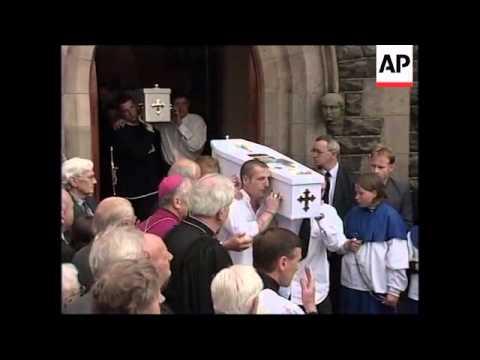 N. IRELAND: BALLYMONEY: FUNERAL OF MURDERED CATHOLIC BROTHERS