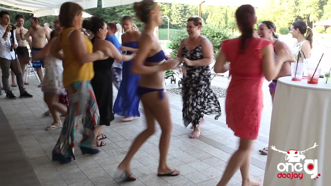 Onegdeejay musica per matrimonio festa in piscina youtube for Addobbi piscina per matrimonio