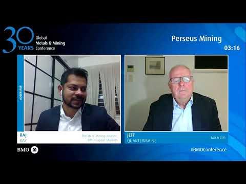 Perseus Mining at BMO Global Metals & Mining Conference