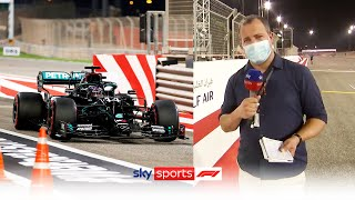 Ted Kravitz on Hamilton's 98th pole, Albon's crash and Bahrain track layout!  | Ted's Quali Notebook