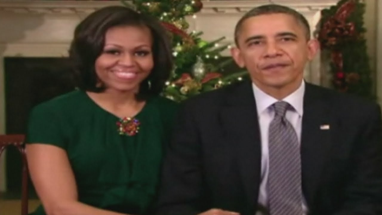 President Obama and First Lady Michelle's Christmas message - YouTube