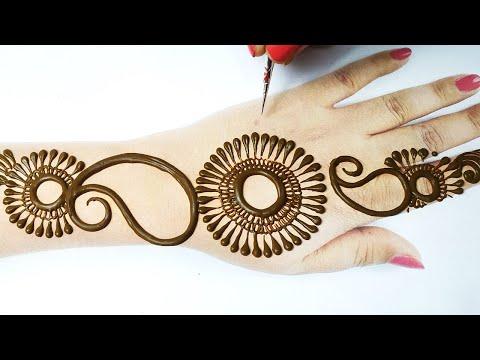 Eid Special Arabic Henna Design - ये सूंदर मेहँदी रमजान/ ईद पे बनाके ज़रूर देखे | Stylish Dot Mehandi