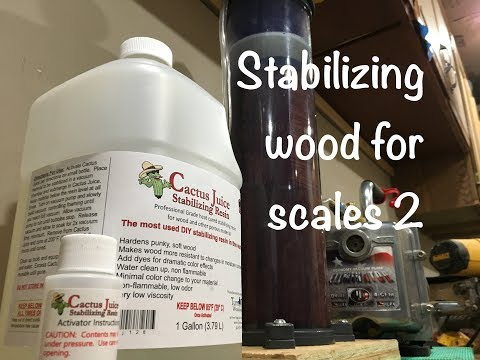 Stabilizing Wood For Scales 2