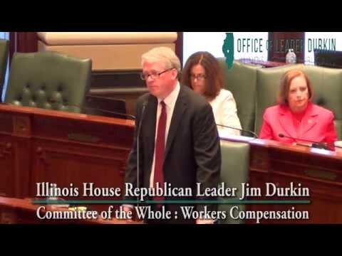 House Republican Leader Jim Durkin Stresses Bipartisanship and Balance