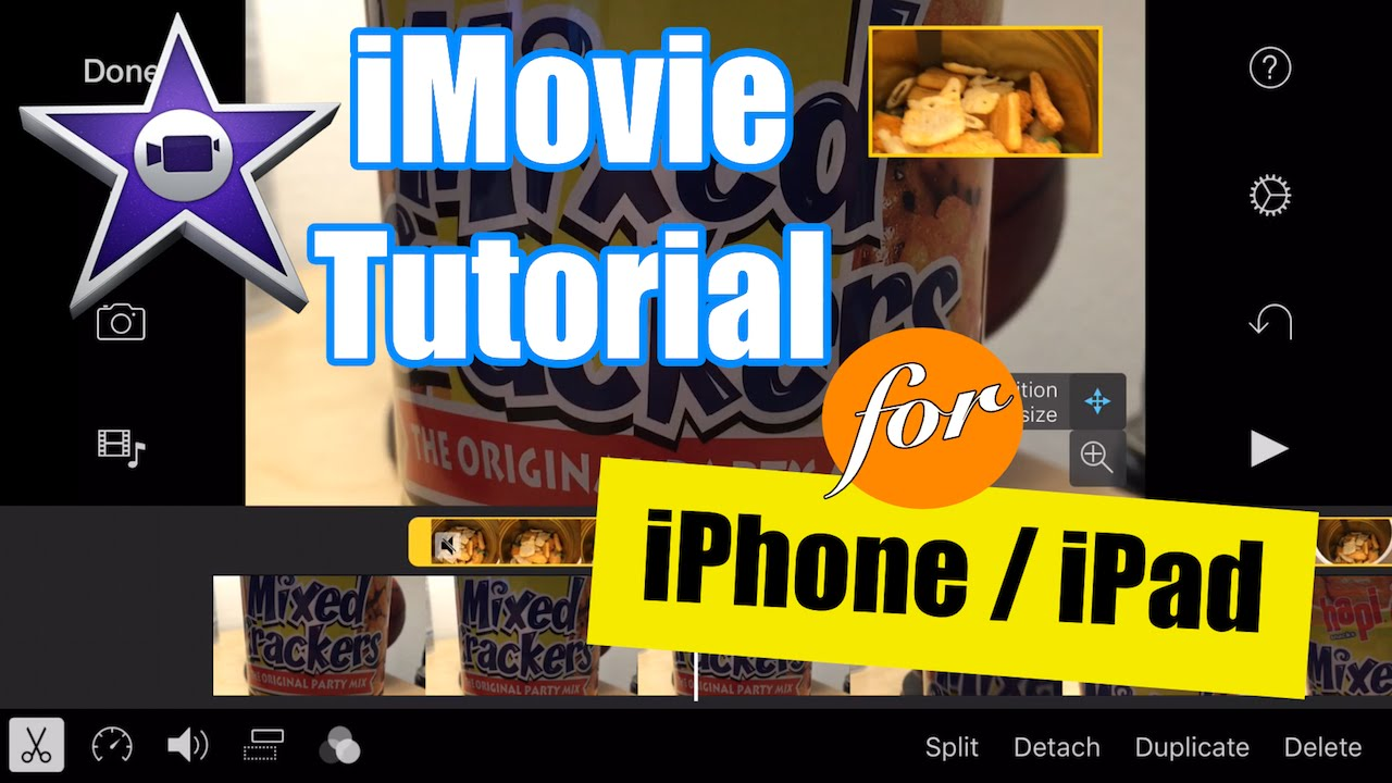 iMovie for iPhone Tutorial - Picture in Picture Video ...
