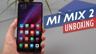 Xiaomi Mi Mix 2 Unboxing & Hands-On Review