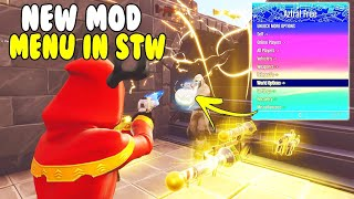 Free Mod Menu Get Any Guns! Ban Players 😱 (Scammer Gets Scammed) Fortnite Save The World
