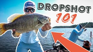Dropshot Fishing Tips: Everything You NEED to KNOW! (Smallmouth Bed Fishing)