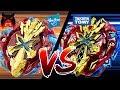 בייבלייד אקסקליוס  2 - האסברו נגד טקרה טומי - קרב הענקים!