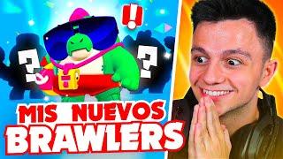 ¡MIS NUEVOS BRAWLERS!! [Brawl Stars]