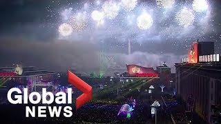 Download lagu New Year s 2019 North Korea s FULL celebration in Pyongyang MP3