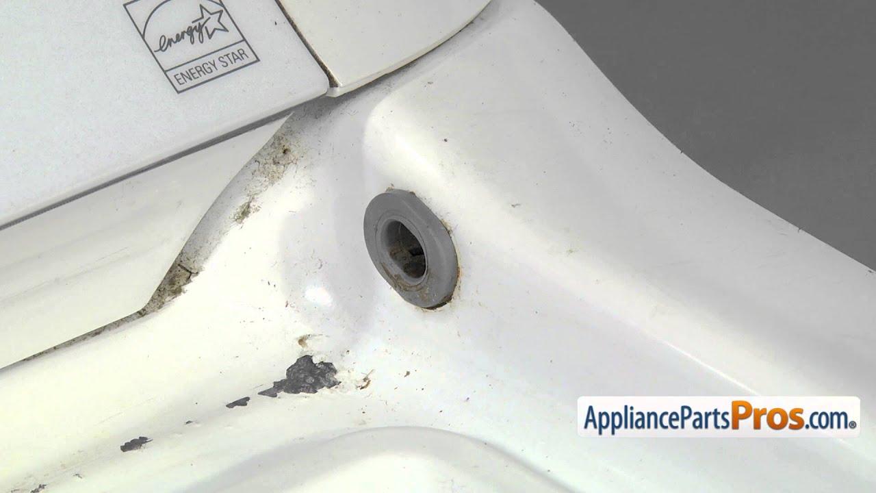 How To Whirlpool Kitchenaid Maytag Lid Hinge Bearing Wp8546627 Youtube