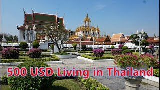 500 USD a Month living  in Thailand?
