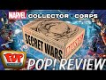 Marvel Collector Corps (Secret Wars) - August 2015 | Unboxing