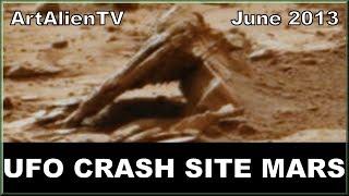 LIFE ON PLANET MARS - Debris or Marine Wreckage ? ArtAlienTV - 1080p