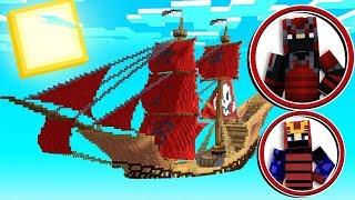 *Red Samurai Mod* Minecraft Airship Battle - Minecraft Modded Minigame | JeromeASF