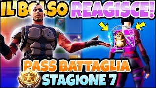 THE BOLSO REACTS TO THE NEW BATTLE PASS! SEASON 7 FORTNITE ITA