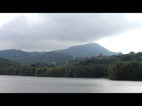 Lago Garzas y el Monte Guilarte, Adjuntas, Puerto Rico.