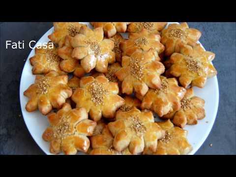Biscuits au sésame / بسكويت السمسم / sesame cookies