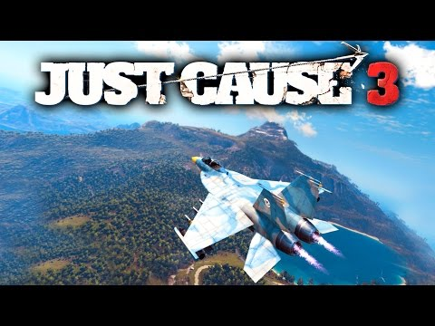 Just Cause 3!!! 20 Minutes of First Impressions! Bomber Jet, Map, Wingsuit & More!