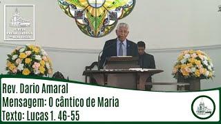 O cântico de Maria | Rev. Dario Amaral | IPBV