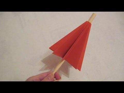 How To Make A Cute Paper Umbrella - DIY Crafts Tutorial - Guidecentral