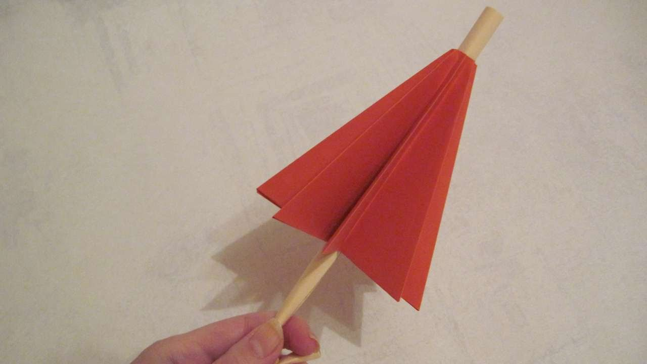 How To Make A Cute Paper Umbrella
