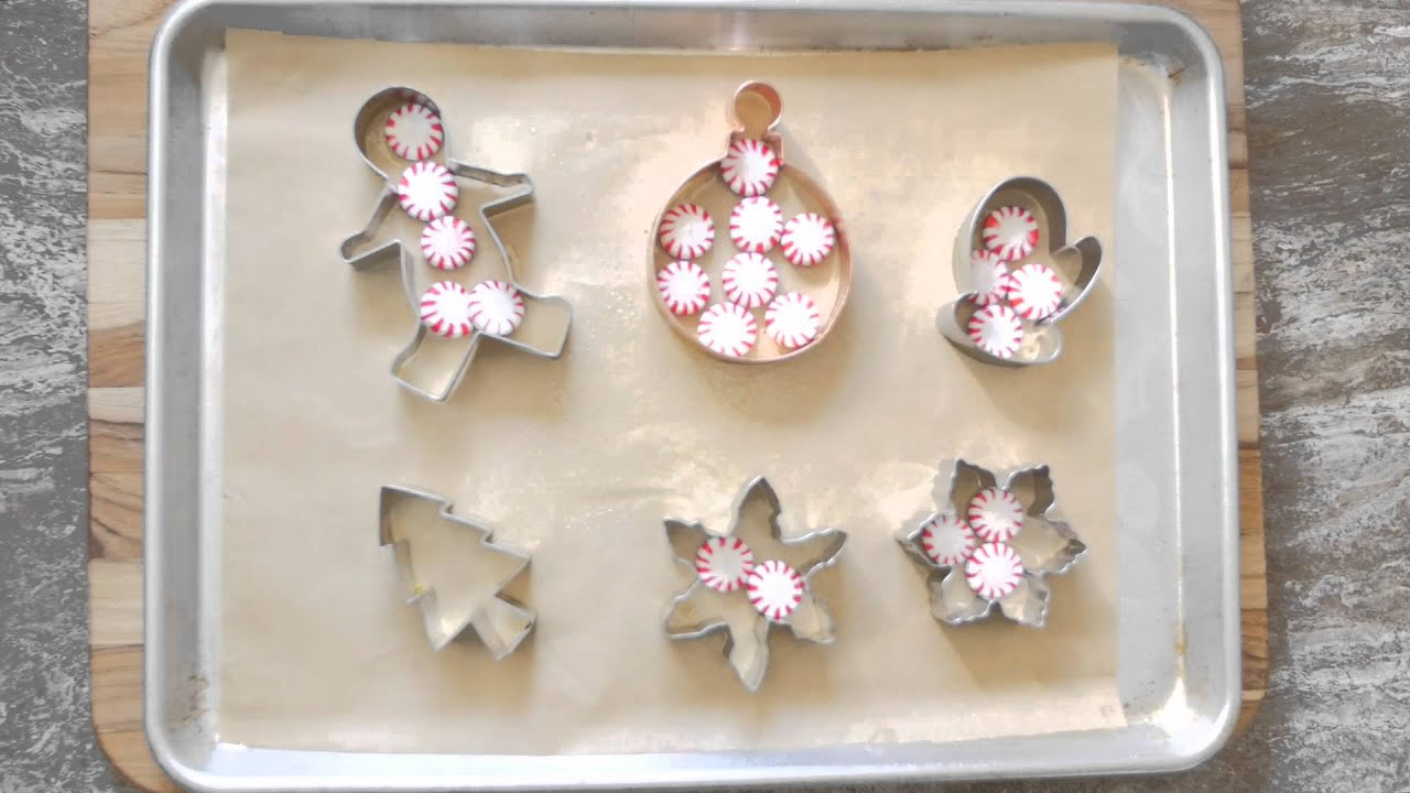how to make peppermint candy ornaments - Peppermint Candy Christmas Ornaments