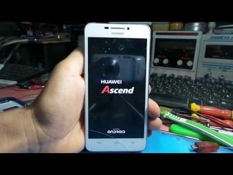 HUAWEI Ascend G630 How to Hard Reset