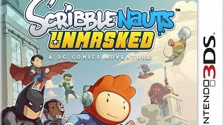 Scribblenauts Unmasked A DC Comics Adventure Gameplay (Nintendo 3DS) [60 FPS] [1080p]