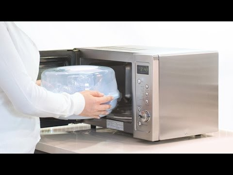 How to use the Philips AVENT Microwave Steam Steriliser Review