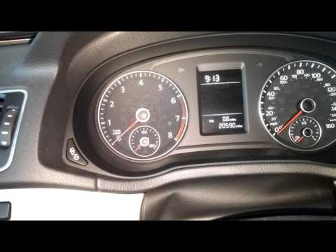 2015 Volkswagen Passat | Reset Inspection Light