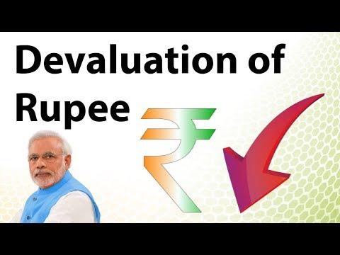 Devaluation of Rupee - Know its impact & how it affects exports and money flow