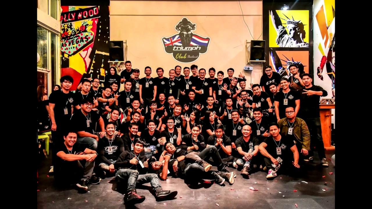 meeting triumph 675 club thailand #5th - youtube