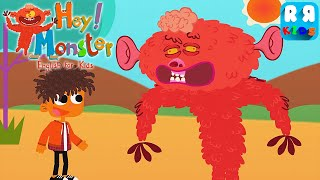 Hey Monster! English for Kids - iOS Gameplay Video