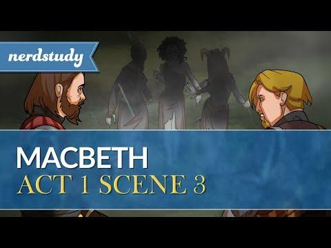 Macbeth Summary (Act 1 Scene 3) - Nerdstudy