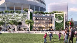 Warriors Unveil Updated Design of New Sports and Entertainment Center at Mission Bay