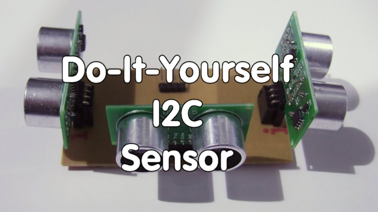 #42 Build your own I2C Sensor with three Ultrasonic Sensors for Arduino