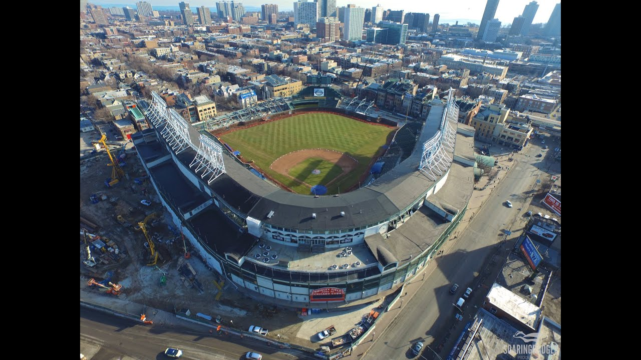 UHD Before Wrigley Field - YouTube 4K Construction During and