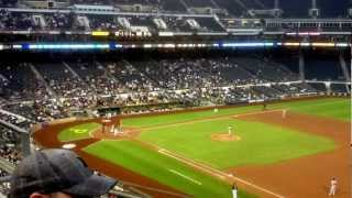 pirates right fielder garrett jones hits a home run may 8 2012