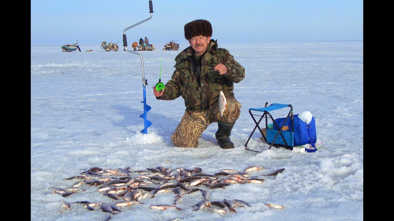 зимняя рыбалка по первому